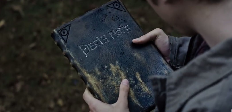 Netfilx_Death Note_book